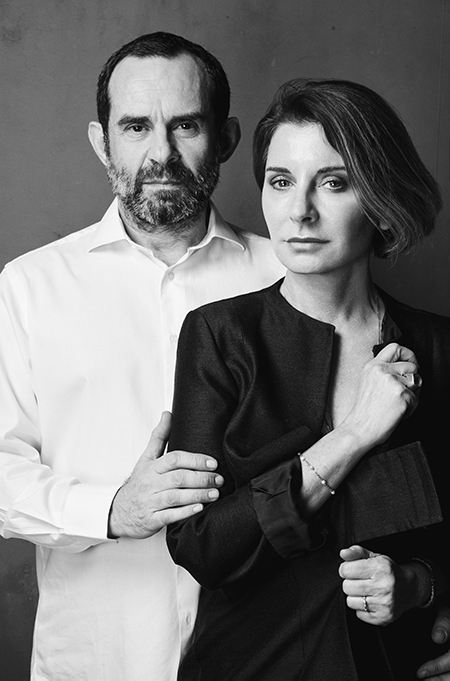 Ludovica and Roberto Palomba