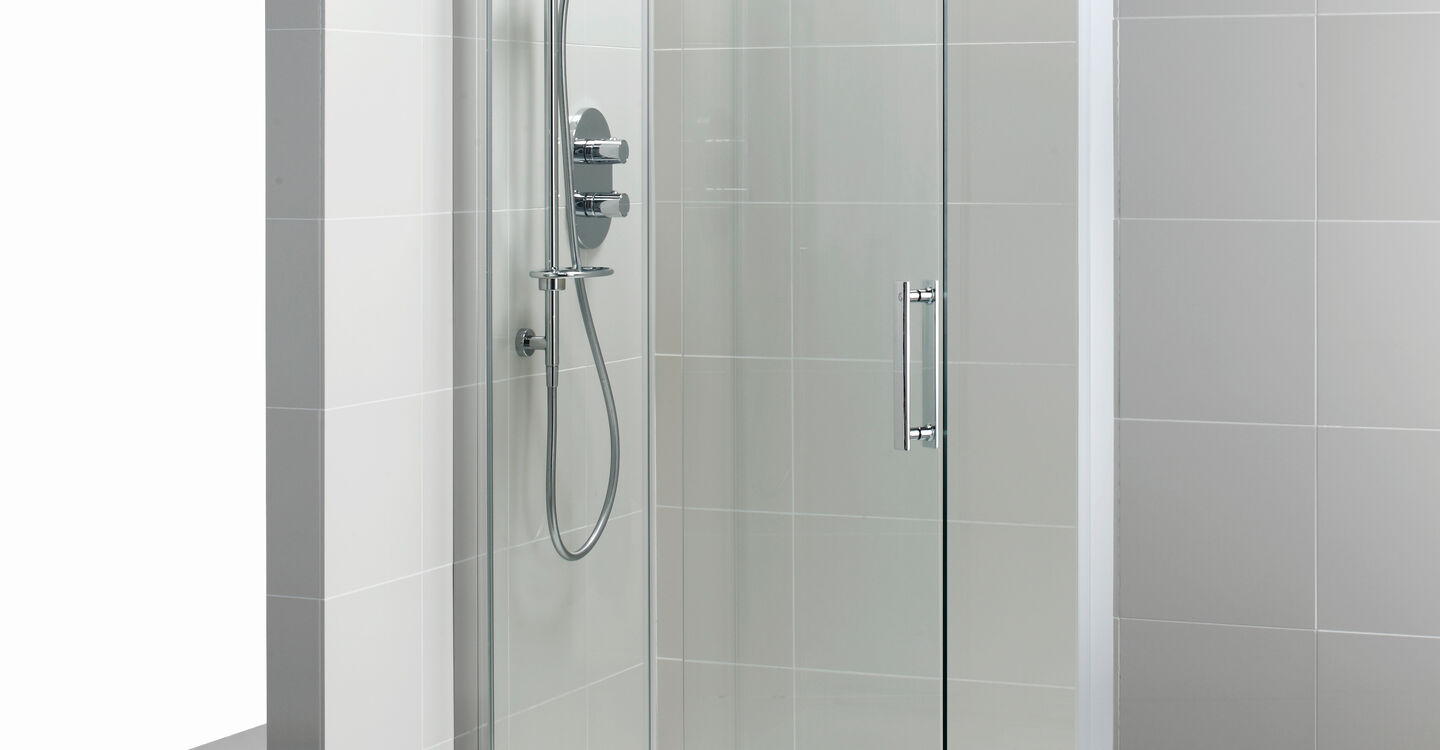 L6205 Synergy 1200mm Pivot Door Panel Idealclean Clear